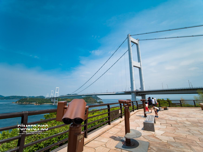 中でも来島海峡大橋は、愛媛の玄関口としてしまなみ海道の代名詞的な存在感がある